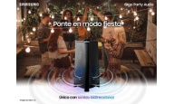 Ponte en Modo Fiesta con Samsung Giga Party Audio, el único dispositiv